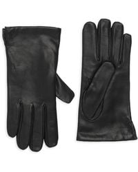 Portolano Classic Leather Gloves - Black