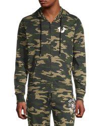 True Religion - Men's Full-zip Logo Jacket - Camo - Size M - Lyst