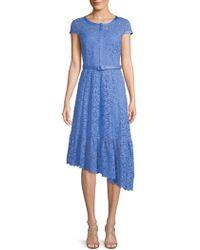 Nanette Lepore - Floral Lace A-line Dress - Lyst