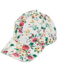 Vince Camuto Women's Botanical Baseball Cap - White