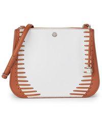 Loro Piana Calfskin Leather Crossbody Bag - Brown