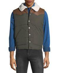 American Stitch - Faux Fur Vest - Lyst