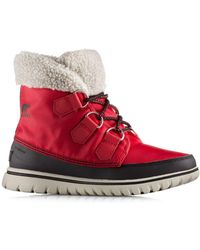Sorel - Cozy Carnival Nylon And Fleece Boots - Lyst