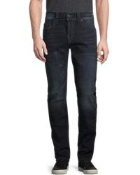 True Religion Rocco Big T Relaxed Skinny Jeans - Blue