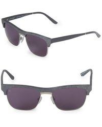 Smoke X Mirrors Women's 53mm Uncle Albert Sunglasses - Gray
