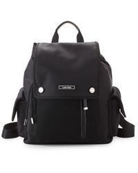 Calvin Klein Nylon Utility Backpack - Black