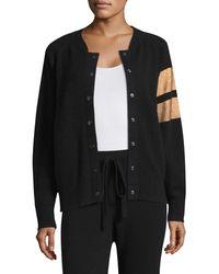 Zoe Jordan Edison Bomber Jacket - Black