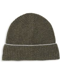 Saks Fifth Avenue Cashmere Knit Beanie - Green