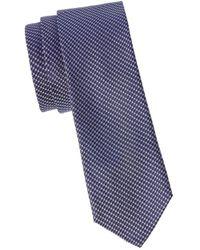 BOSS by HUGO BOSS Silk Slim Tie - Blue