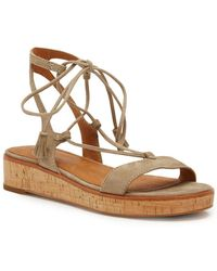 Frye - Miranda Suede Gladiator Sandals - Lyst