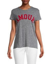 Zadig & Voltaire Women's Amour T-shirt - White - Size Xs