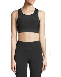 X By Gottex - Key Shaped Mesh Sports Bra - Lyst