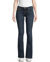 True Religion Women's Becca Mid-rise Boot-cut Jeans - Indigo - Size 26 (2-4) - Blue