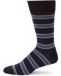 Saks Fifth Avenue - Simply Striped Wool Blend Socks - Lyst