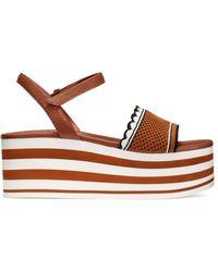 Kate Spade Women's Highrise Platform Sandals - Brown - Size 11
