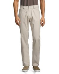 Saks Fifth Avenue - Collection Five-pocket Cotton Chinos - Lyst