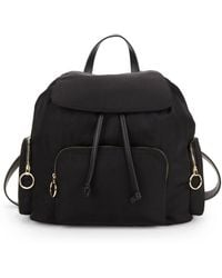 French Connection - Black Henley Backpack - Lyst