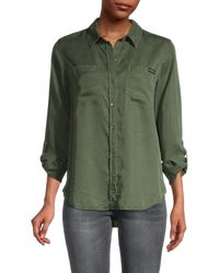 Ck Jeans Long Sleeve Shirt - Green