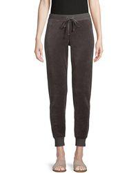 Juicy Couture Velour Jogger Pants - Multicolour