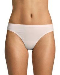 Ava & Aiden Bonded Edge Stretch Thongs - Brown