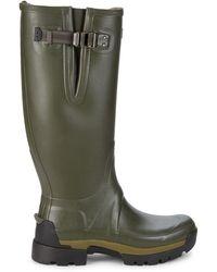 HUNTER Balmoral Ii Adjustable Rain Boots - Green