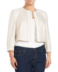 Basler - Long-sleeve Zippered Jacket - Lyst
