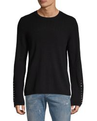 Zadig & Voltaire - Studded Wool & Cashmere Jumper - Lyst