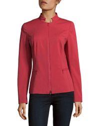 Lafayette 148 New York | Mimi Tonal Stitched Jacket | Lyst