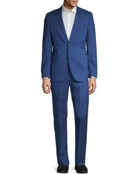 Saks Fifth Avenue - Trim-fit Wool Suit - Lyst