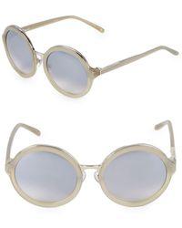 3.1 Phillip Lim - 54mm Oval Sunglasses - Lyst