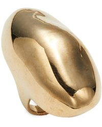 Alexis Bittar 10k Goldplated Orbital Ring - Multicolour