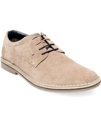 Steve Madden - Hatrick Casual Suede Derby Shoes - Lyst