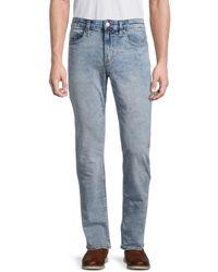 Buffalo David Bitton Ash-x Slim-fit Stretch Jeans - Blue