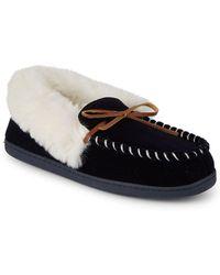 Saks Fifth Avenue - Yuma Faux Fur Slippers - Lyst