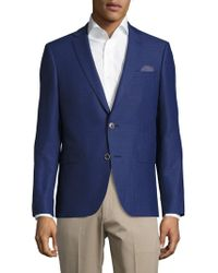 Sand - Slim-fit Wool Textured Sportcoat - Lyst