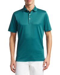 Saks Fifth Avenue Men's Collection Performance Polo - Pink - Multicolor