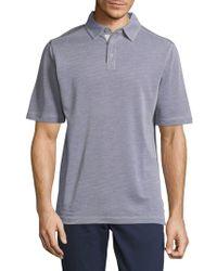 Saks Fifth Avenue - Short Sleeve Polo - Lyst