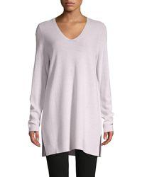 Eileen Fisher Merino Wool Tunic - Pink
