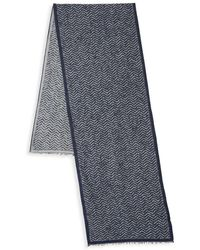 Saks Fifth Avenue - Donegal Chevron Scarf - Lyst