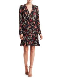 A.L.C. - Haven Silk Floral Dress - Lyst
