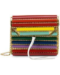 Sam Edelman Barrel Stud Crossbody Bag - Multicolour