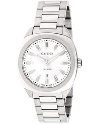 Gucci - Stainless Steel Analog Bracelet Watch - Lyst