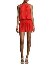 Ramy Brook Paris Sleeveless Dress - Red