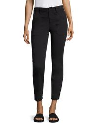 Vince - Skinny Military Jeans - Lyst