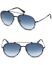 Tom Ford - Dickon 59mm Aviator Sunglasses - Lyst