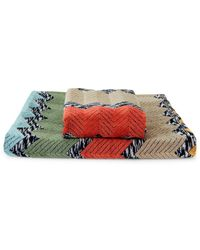 Missoni 2-piece Wilfred Cotton Towel Set