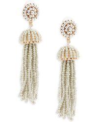 Gemma Simone - Sea Bead Drop Earrings - Lyst