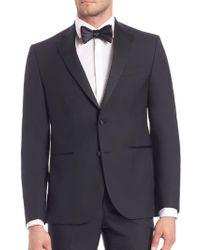 Saks Fifth Avenue Modern Tuxedo Jacket