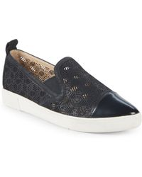 Karl Lagerfeld - Cut-out Slip-on Sneakers - Lyst