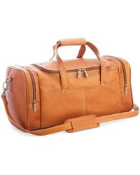Royce - Leather Luxury Overnight Duffel Bag - Lyst